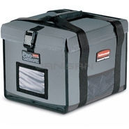 "Rubbermaid 9F15 PROSERVE® Insulated Top Load Half Pan Carrier - 3-2 1/2"" or 2-4\"" deep pan capacity"