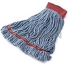 "Rubbermaid A253-06 Web Foot� Shrinkless� Wet Mop - Large - 5"" Red Headband"