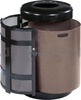 "Rubbermaid A38TSD Open Top Side Door Receptacle with Keyed Cam Lock - 38 Gallon Capacity - 24"" Dia. x 35"" H - 12"" Dia. Disposal Opening"