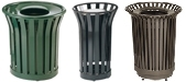 Rubbermaid / United Receptacle Americana Series Garbage Cans, Waste Receptacles & Trash Containers