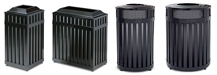 Rubbermaid / United Receptacle Avenue Series Garbage Cans, Waste Receptacles & Trash Containers