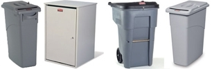 Rubbermaid Confidential Waste Containers & Secure Document Containers