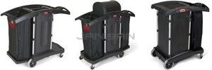 Compact Housekeeping Carts