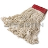 "Rubbermaid D153-06 Super Stitch� Cotton Looped End Wet Mop - Large - 5"" Red Headband"