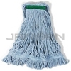 "Rubbermaid D212-06 Super Stitch� Blend Mop - Medium - 1"" Green Headband"