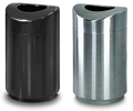 Rubbermaid / United Receptacle Designer Line Eclipse Trash Cans, Waste Receptacles, Trash Containers & Garbage Cans