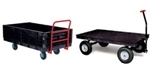 Rubbermaid Heavy-Duty Platform Convertible Wagons