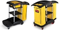 Rubbermaid High Capacity Cleaning Carts
