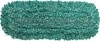 "Rubbermaid J855-00 Microfiber Looped-End Dust Mop - 36"" L x 5"" W - Green in Color"