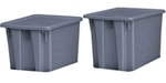 Rubbermaid Stack & Nest Palletote Boxes
