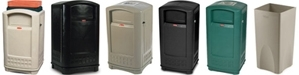 Rubbermaid Plaza Trash Cans, Waste Receptacles, Trash Containers & Garbage Cans