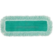 "Rubbermaid Q418 18"" Microfiber Dust Pad with Fringe"