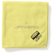 Rubbermaid Q610 Microfiber Bathroom Cloth (Yellow)