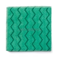 Rubbermaid Q640 HYGEN Microfiber XL General Purpose Cloth - Green in Color