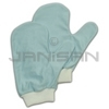 Rubbermaid Q651 Microfiber Glass/Mirror Mitt with Thumb (Blue)