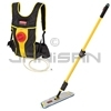 "Rubbermaid Q979 Flow Flat Mop Finish Kit - 56"" L x 9.75"" W x 3.75"" H - 1.5 Gallon Capacity"