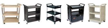 Rubbermaid Service Carts