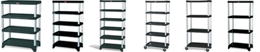 Rubbermaid Shelving - Stationary Shelves & Mobile Shelving