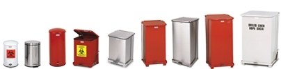 Rubbermaid / United Receptacle Step On Trash Cans, Waste Receptacles & Garbage Containers