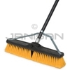 "Rubbermaid X41904 18"" Plastic Foam Block Brace Broom, Medium-Duty, Multi-Surface Polypropylene and Polystyrene Fill"