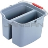 Rubbermaid 2617 Double Pail - 17 qt Capacity