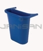 "Rubbermaid 2950-73 Wastebasket Recycling Side Bin - 4.755 quart capacity - 10.6"" L x 7.25"" W x 11.5"" H"