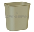 Rubbermaid 29550 Wastebasket, Small - 13 5/8 U.S. Quart Capacity - Beige in Color