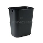 Rubbermaid 29561 Wastebasket, Medium - 28 1/8 U.S. Quart Capacity - Black in Color