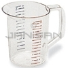 Rubbermaid 3217 Bouncer® Measuring Cup - 2 quart capacity
