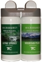 Technical Concepts TC Microburst Duet Dual Fragrance Air Freshener Refills - Alpine Springs/Mountain Peaks Fragrances - 1 case of 4 refills