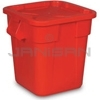 Rubbermaid 3517 Combo Pack includes 3526 Square BRUTE® Container, 3529 Snap-Lock® Lid