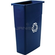 Rubbermaid 3540-75 Slim Jim® Recycling Container - 23 U.S. Gallon Capacity