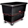 "Rubbermaid 4727 Utility Truck, Heavy-Duty with 5"" dia Corner Casters - 59"" L x 34"" W x 42.88"" H - 27 cu ft (21.7 bushels) - 1200 lb. capacity"