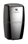 Technical Concepts TC SaniCell Wall Automatic Fixture Cleaning System - Service Dispenser (Battery-Free) - Black/Chrome in Color