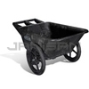 Rubbermaid 5642 7.5 Cu. Ft. Big Wheel® Cart - 300 lb. & 7.5 cu. ft. level capacity