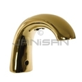 Technical Concepts TC OneShot Low Profile Counter-Mounted Automatic Hand Soap Dispenser - Metal Spout with Brass Finish