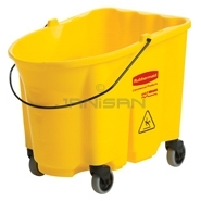 Rubbermaid 7570-88 WaveBrake® Bucket - 35 Qt Capacity