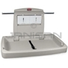 "Rubbermaid 7818-88 Baby Changing Station Horizontal - 33.25"" L x 21.5"" H x 4"" D (Closed)"