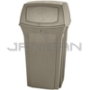 "Rubbermaid 8430-88 35 Gallon Ranger Container - 21.5"" Sq. x 41"" H"