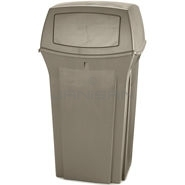 "Rubbermaid 8430-88 35 Gallon Ranger Container - 21.5"" Sq. x 41\"" H"