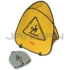 "Rubbermaid 9S07 Folding Safety Cone with ""Caution"" Imprint, English, Spanish, French"