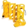 Rubbermaid Mobile Barrier System - Non-Conductive Barricades