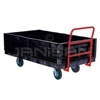 Rubbermaid 9T09 Side Panel Package, Converts Truck to Platform Convertible Wagon (4 sides and 2 end panels)