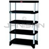 "Rubbermaid 9T37 Shelving, 5-Shelf Unit - 35.13"" L x 20"" W x 60"" H - 800 lb capacity"