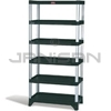 "Rubbermaid 9T40 Shelving, 6-Shelf Unit - 35.13"" L x 20"" W x 72.75"" H - 800 lb capacity"