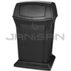 "Rubbermaid 9171-88 45 Gallon Ranger Container with 2 Doors - 24.88"" Sq. x 41.5"" H"