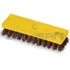 "Rubbermaid 9B24 Square Block Scrub Brush, Palmyra Fill - 7.5"" in Length - 1"" Trim Length"