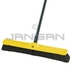"Rubbermaid 9B03 Plastic Foam Block, Fine Floor Sweep, Tampico Fill with Horsehair Border - 24"" in Length - 2 7/8"" Trim"
