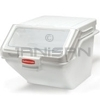 "Rubbermaid 9G58 200 Cup Safety Storage Bin with 2 Cup Scoop - 23.5"" L x 19.2"" W x 16.88"" H - 1.67 cu. ft capacity"