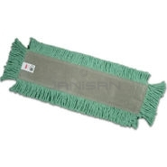 "Rubbermaid L153 Blended Cut-End Disposable Dust Mop - 24"" L x 5\"" W - Green or White in Color"
